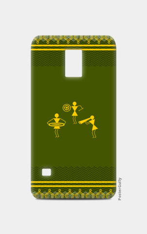 beautiful warli folk art Samsung S5 Cases | Artist : Niharika Shenoy