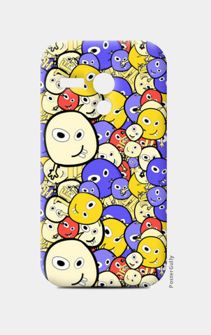Doodle cartoon characters  Moto G Cases | Artist : Designerchennai