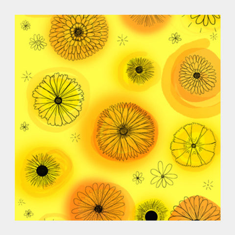 Flower Power Square Art Prints PosterGully Specials