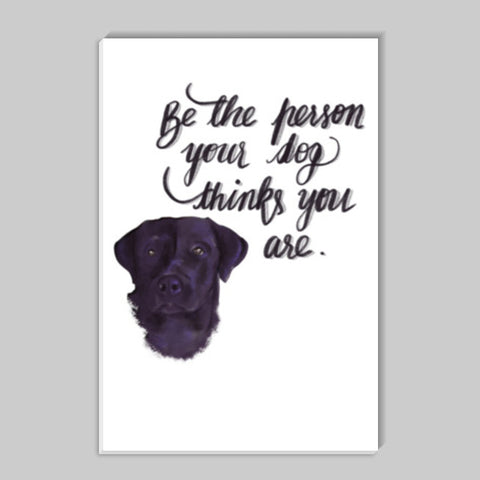 Dog lover Pets quote Stick Ons | Artist : Deepikah Bhardwaj