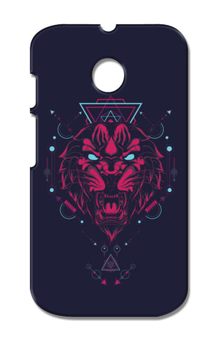 The Tiger Moto E XT1021 Cases | Artist : Inderpreet Singh