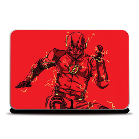 Laptop Skins, The Flash Laptop Skins | Artist : Dikshant Kumar, - PosterGully