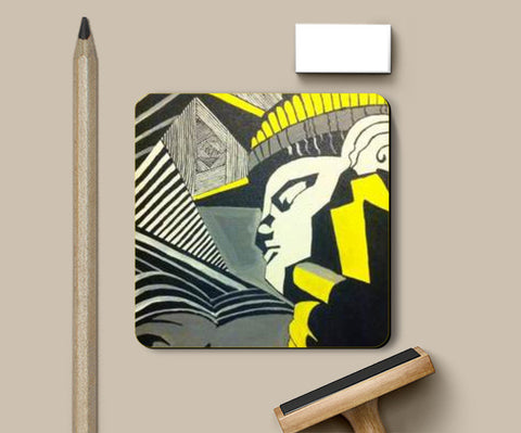 Coasters, I rule the World Coaster | Artist: Meghna Garg, - PosterGully