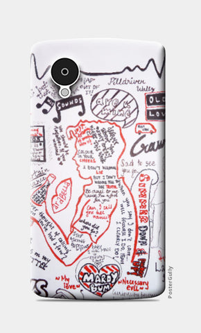 Nexus 5 Cases, Arctic Monkeys Nexus 5 Case | Ayushi Teotia, - PosterGully