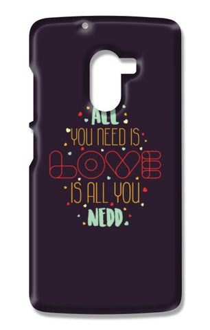 All you need is love is all you need Lenovo K4 Note Cases | Artist : Designerchennai