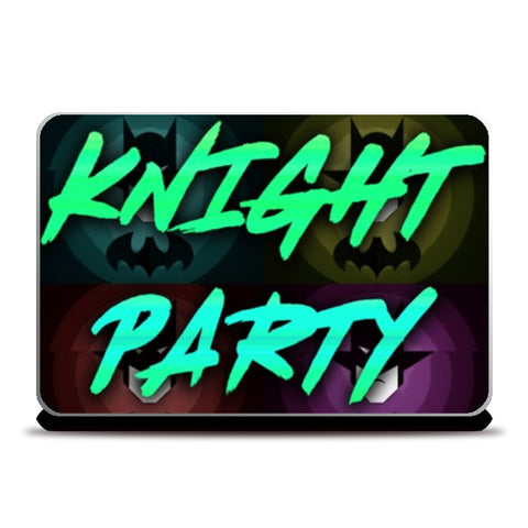Laptop Skins, Knight Party Laptop Skins | Artist : Jax D, - PosterGully