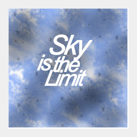 Sky is the Limit Square Art Prints | Artist : Nisha Prabhu