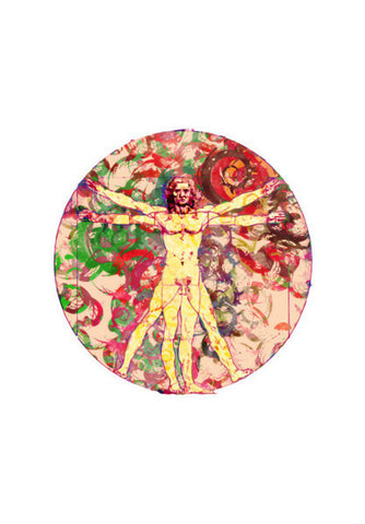 Wall Art, VItruvian Man Wall Art | Artist : Archana Aravind, - PosterGully