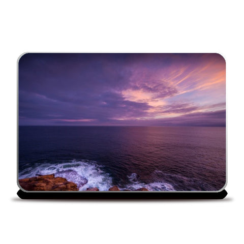 Laptop Skins, Purple Sea Laptop Skins | Artist : Manju Nk, - PosterGully