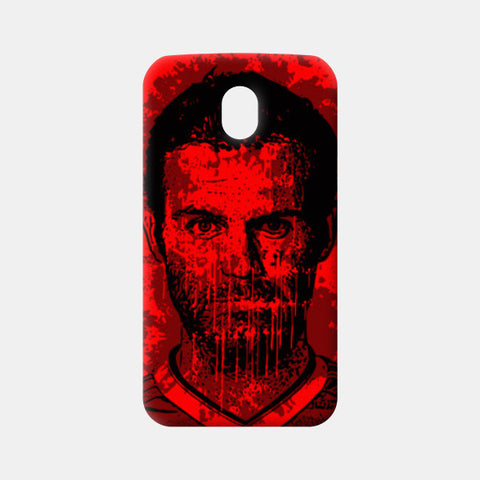 Moto G3 Cases, Juan Mata Illustration Moto G3 Cases | Artist : Kislaya Sinha, - PosterGully
