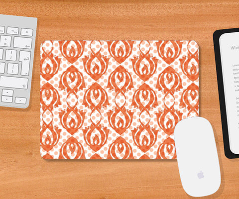 Packed Polkas Mousepad | Artist : Its ZentTangleD