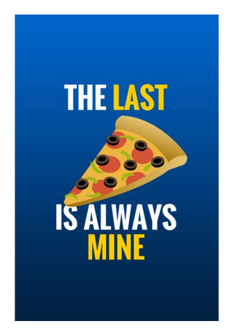 Wall Art, Last slice of pizza |  Wall Art | Artist : Nikhil Wad, - PosterGully