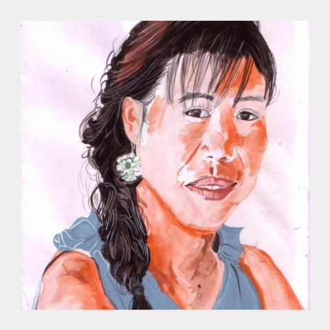 Mary Kom Is A Legend Born 'out-of-the-box' Square Art Prints PosterGully Specials