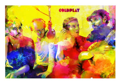 PosterGully Specials, COLDPLAY Wall Art | Artist : SREY, - PosterGully