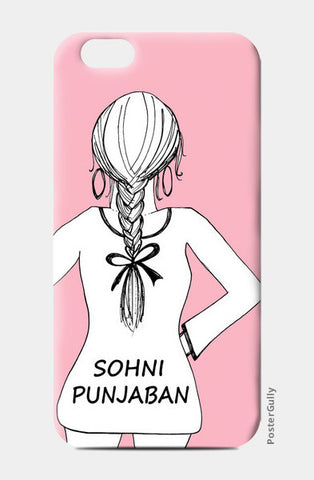Trendy Sohni Punjaban Girly Design  iPhone 6/6S Cases | Artist : Seema Hooda