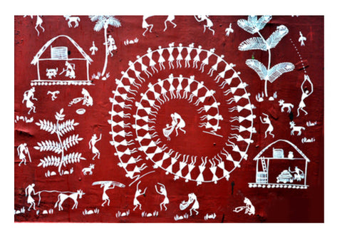 warli Wall Art  | Artist : Shalom  Design