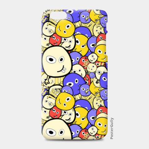 Doodle cartoon characters  iPhone 6 Plus/6S Plus Cases | Artist : Designerchennai