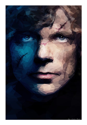 Wall Art, Tyrion Lannister | Polygonal Portrait Wall Art | Omkar Thakur, - PosterGully