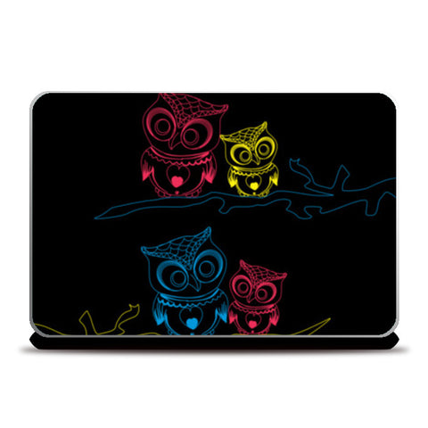 OWL B Laptop Skins | Artist : Tiny Dots