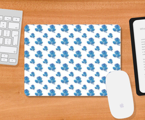 Blue Roses Mousepad | Artist : Delusion