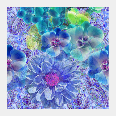 Enchanting Flora Square Art Prints PosterGully Specials