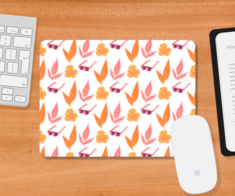 Tropical Vibes Mousepad | Artist : The Un.Titled