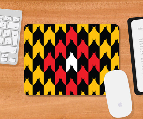 Batman and Bat (Upside down) Mousepad | Artist : Rachit Tank