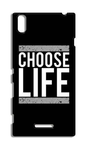 Choose Life Sony Xperia T3 Cases | Artist : Designerchennai