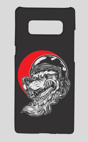 Gorilla Samsung Galaxy Note 8 Cases | Artist : Inderpreet Singh