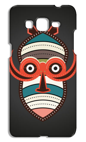 African Authentic Mask Samsung Galaxy Grand Prime Cases | Artist : Designerchennai
