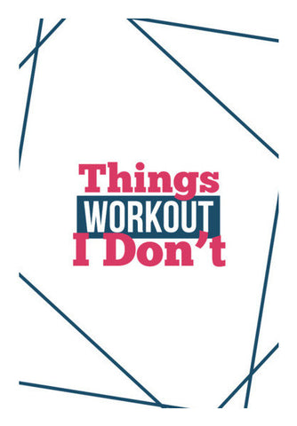 Things Workout Art PosterGully Specials