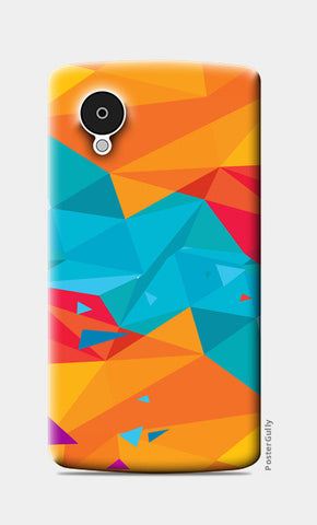 Nexus 5 Cases, Color Triangle Nexus 5 Cases | Artist : Manju Nk, - PosterGully