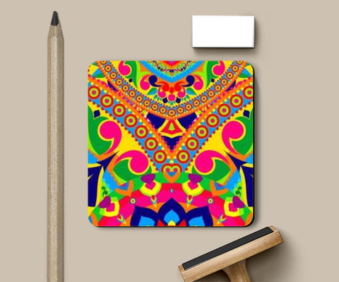 Coasters, Rangoli Coasters | Artist : Anushree Ghosh, - PosterGully