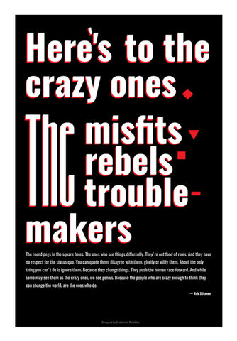 Troublemakers Wall Art | Artist : Scatterred Partikles