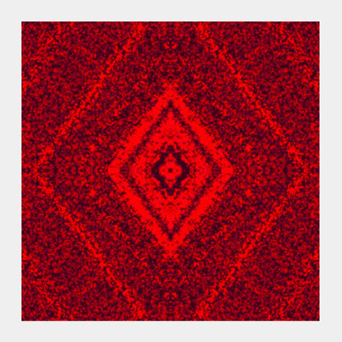 Square Art Prints, Red Art Square Art Prints | Artist : Hemant Kumar Gandhi, - PosterGully