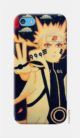 iPhone 5c Cases, Naruto-Blood moon iPhone 5c Case | Artist:Abhilash Katta, - PosterGully
