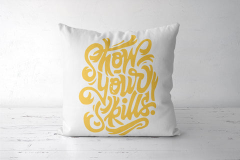 show your skill Cushion Covers | Artist : Soumyajyoti Dey