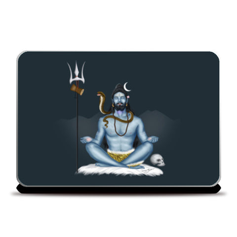 Laptop Skins, Shankar -The Destroyer Laptop Skins | Artist : Puneet Gaur Barnala, - PosterGully