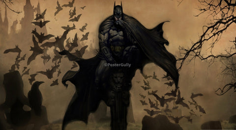 PosterGully Specials, Batman | Art Painting, - PosterGully