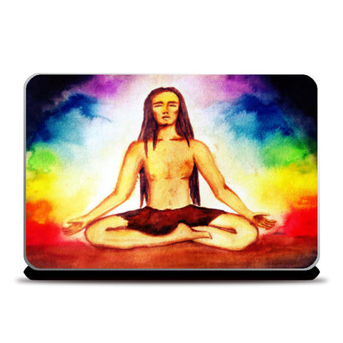 Laptop Skins, Tuning with Chakras  Laptop Skins | Artist : Aashna Aasif, - PosterGully