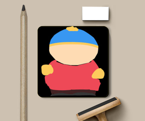 Eric Cartman South Park Minimal Sketch Doodle Artwork (Childhood/Cartoon) Coasters | Artist : Looks Good = Feels Good