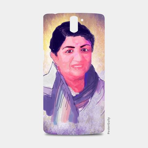 Lata Mangeshkar - Rangeela Re One Plus One Cases | Artist : Deepak Gupta