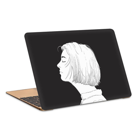 Calm Face Artwork Laptop Skin
