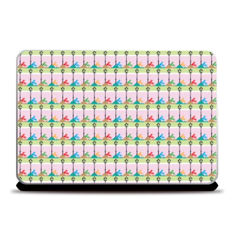 Laptop Skins, Lamp Post Laptop Skins | Artist : DHAATU, - PosterGully