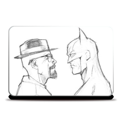 Laptop Skins, Breaking Batman Laptop Skin | Artist: Pankaj Lewarikar, - PosterGully
