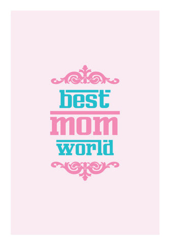 Best Mom World Art PosterGully Specials