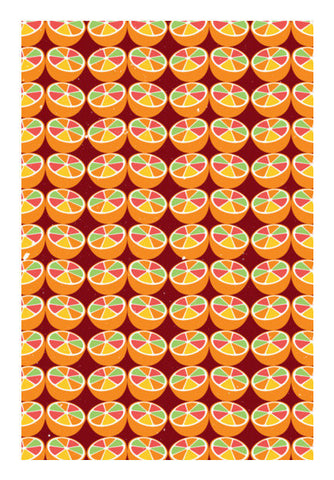 Grapefruit Pattern Art PosterGully Specials