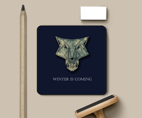 winter is coming Coasters | Artist : Nazria Banu