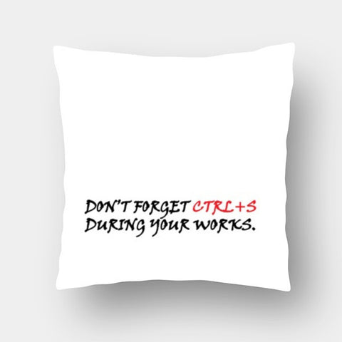 Cushion Covers, CTRL+S Cushion Covers | Artist : Sonia Punyani, - PosterGully