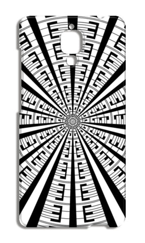 Abstract Geometric Black And White Designer Pattern Xiaomi Mi-4 Cases | Artist : Seema Hooda